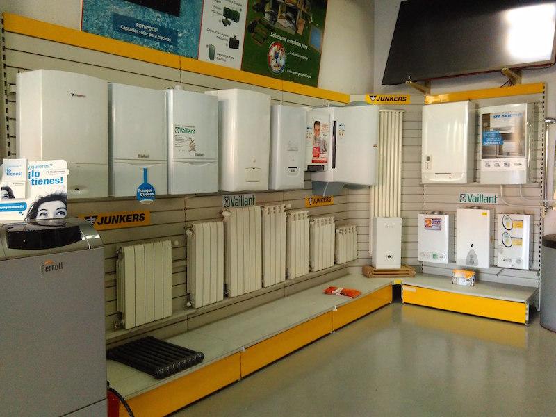 Almacenes Materiales Calefacción